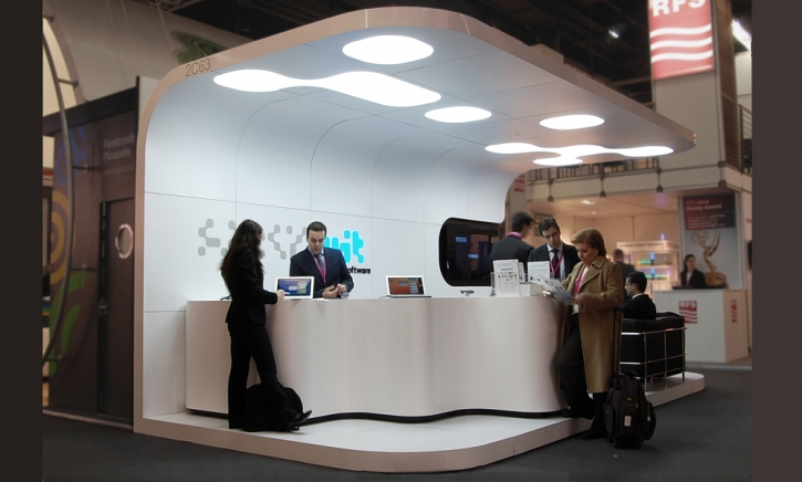 Stand Feira WIT software 02 _ LUIS FLORIO | arquitecto